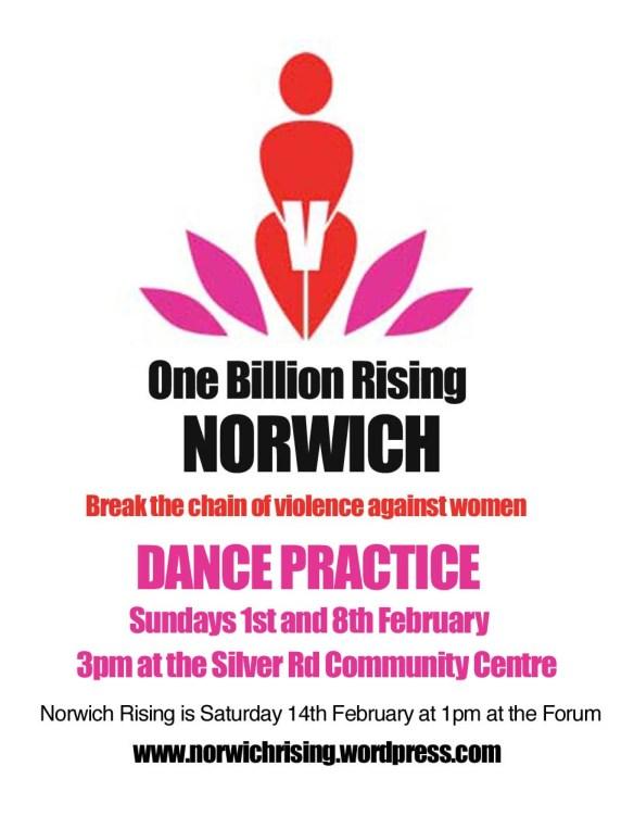 Norwich Rising 2015 dance practice